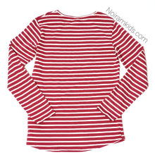 Load image into Gallery viewer, Zara Kids Red White Striped Girls Shirt Size 10 Used View 2