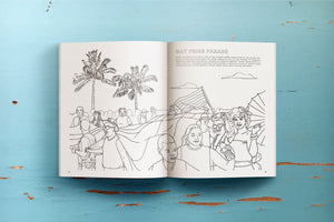 Miami Coloring Book