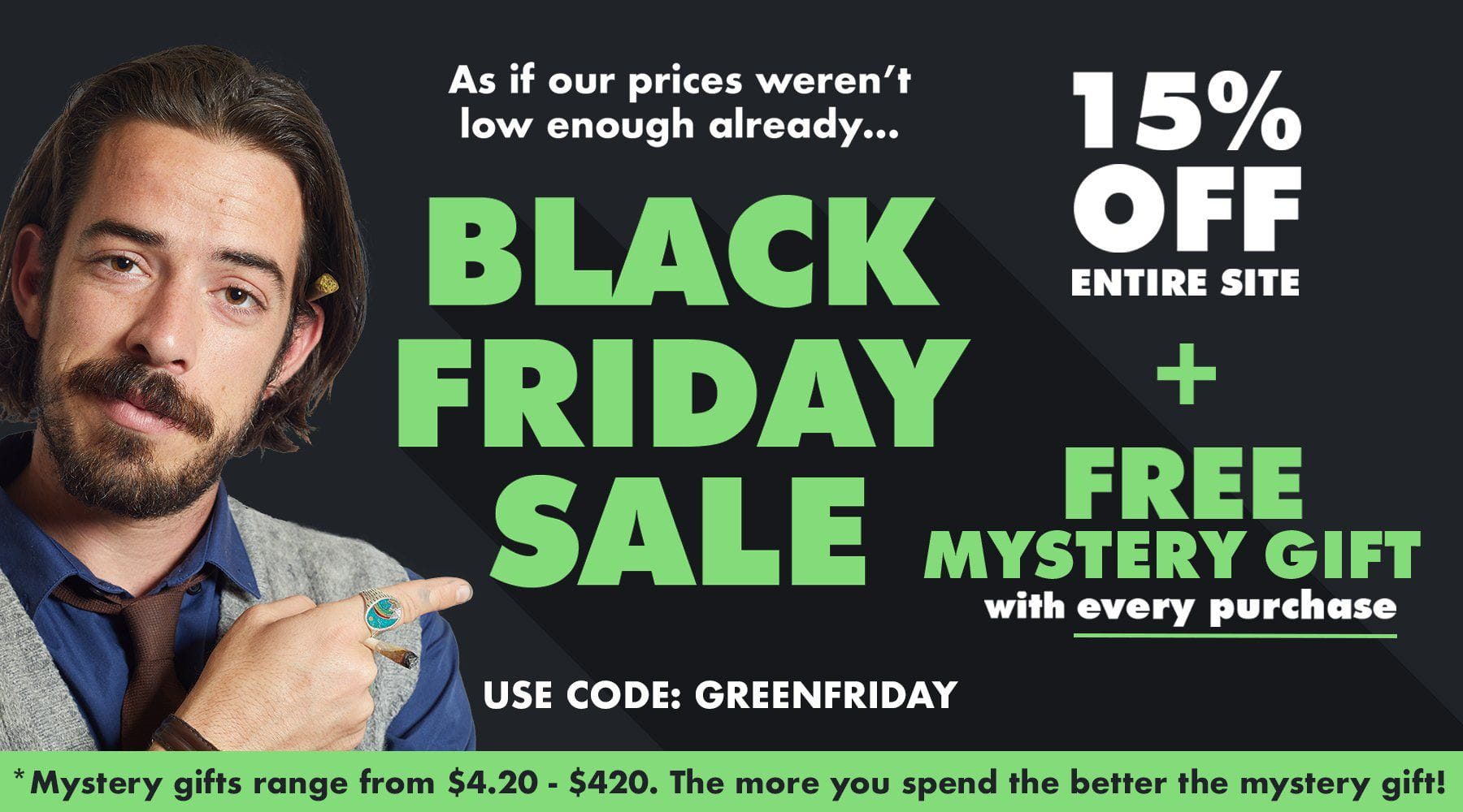 Make Your Black Friday a Green Friday