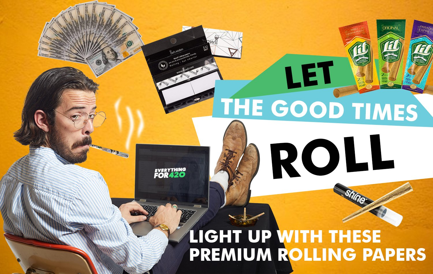 Let The Good Times Roll: Light Up With These Premium Rolling Papers