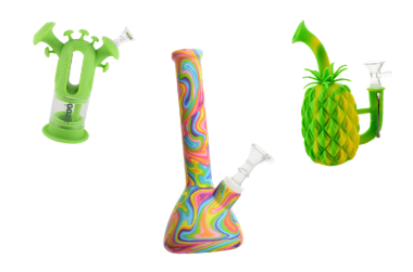 cool silicone bongs