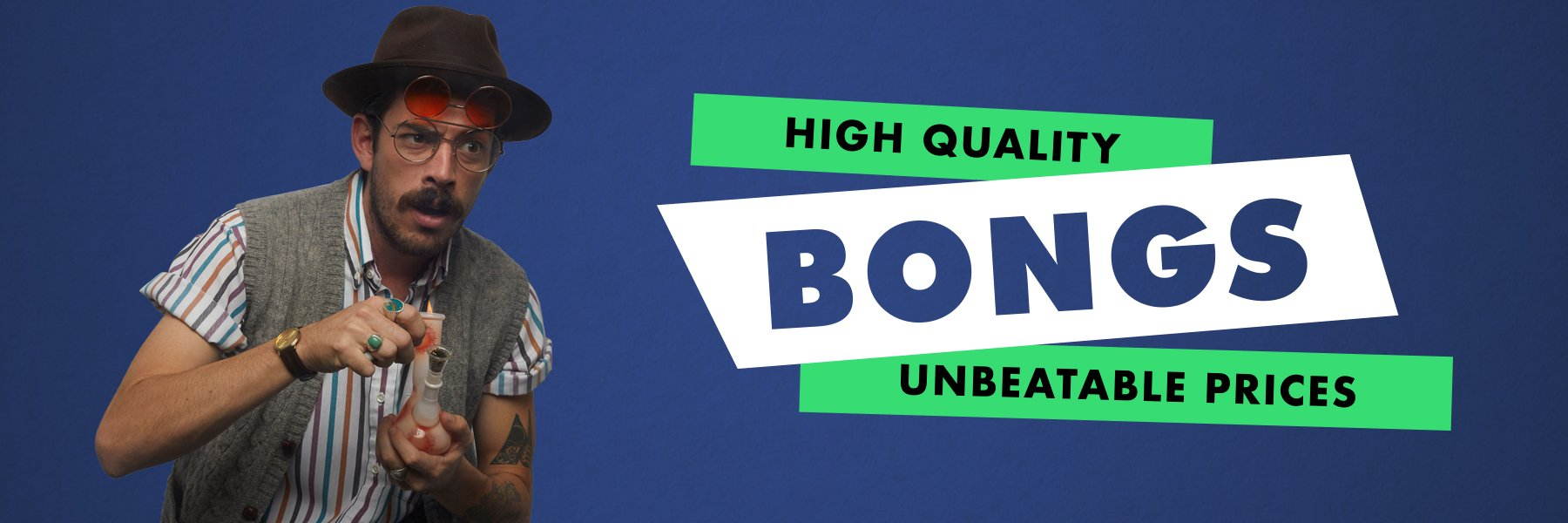 Huge Bongs - Giant and big bongs for seasoned smokers