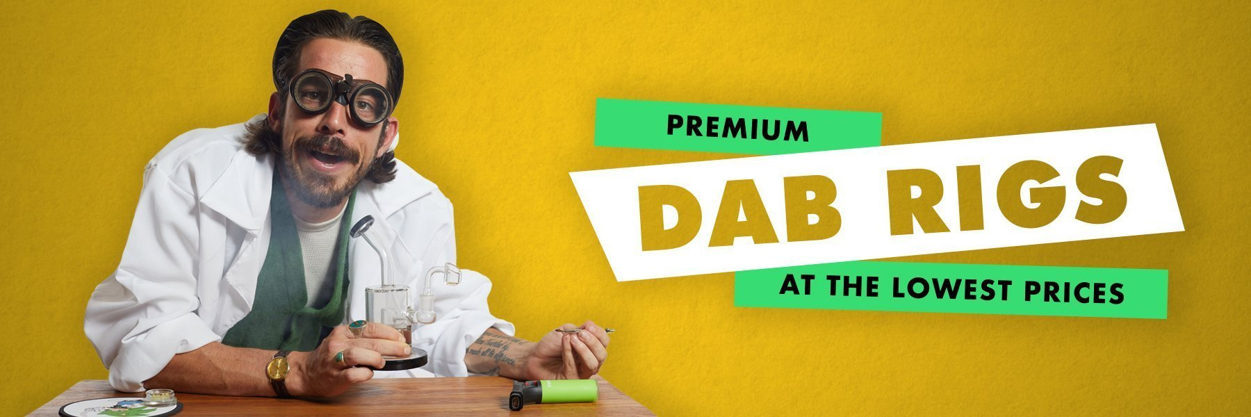 Dabbing Accessories - Dab Tools, Quartz Bangers, Torches, Carb Caps and more