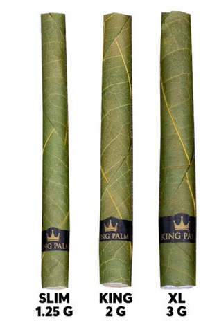 King Palm Hand Rolled Leaf