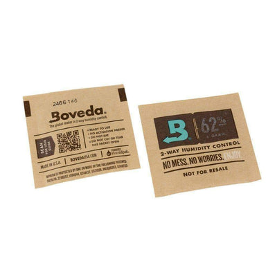 3 piece Boveda Humidipaks 62% Humidity packs no mess ready to use smoking accessory