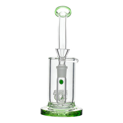 Central Honeycomb Bong - 8in Moss