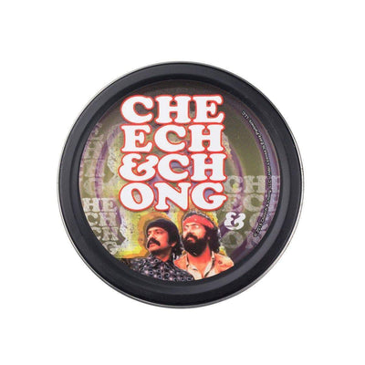 Cheech n Chong Round Stashbox Psychedelic