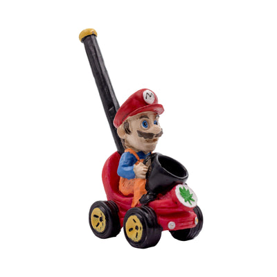 Pipe Clay Character Pipe - 5in Mario
