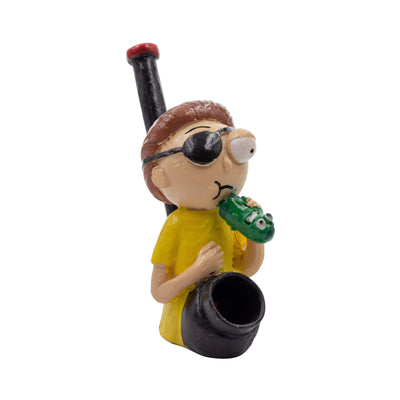 Pipe Clay Character Pipe - 5in Morty