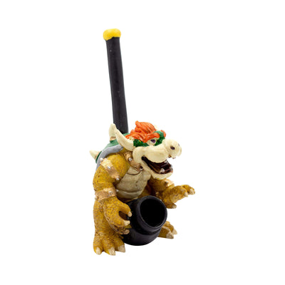 Pipe Clay Character Pipe - 5in Bowser