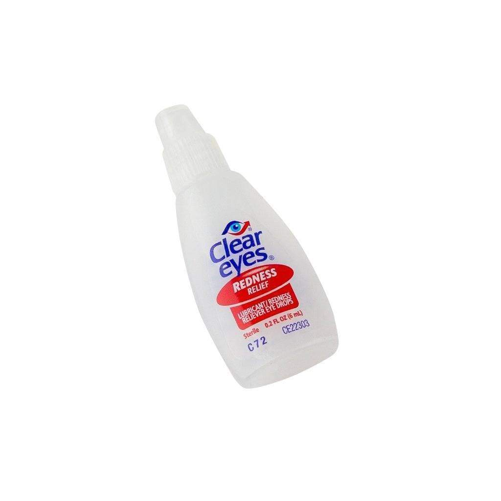 Clear Eyes Eye drops to bring relief to minor eye irritation and dryness with eye design easy-to-use shape