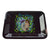 7 inch metal rolling tray smoking accessory Rick N Morty getting high green blood crab claw violet worms pig snout design