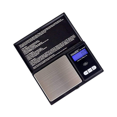 Compact stainless steel pocket scale smoking accessory professional look with 60 second power saver auto turn off