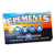Pack of Elements 300 count ultra thin rolling papers tree, water, air, flame symbols sunset on ocean with sky background