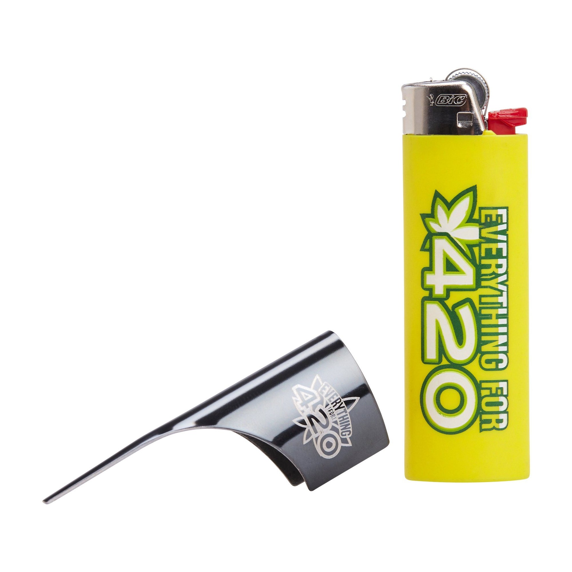 Multipurpose kasher lighter accessory fit most lighters with sleek style and Everything For 420 print