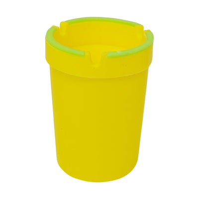 Glow In The Dark Cup Ashtray Yellow