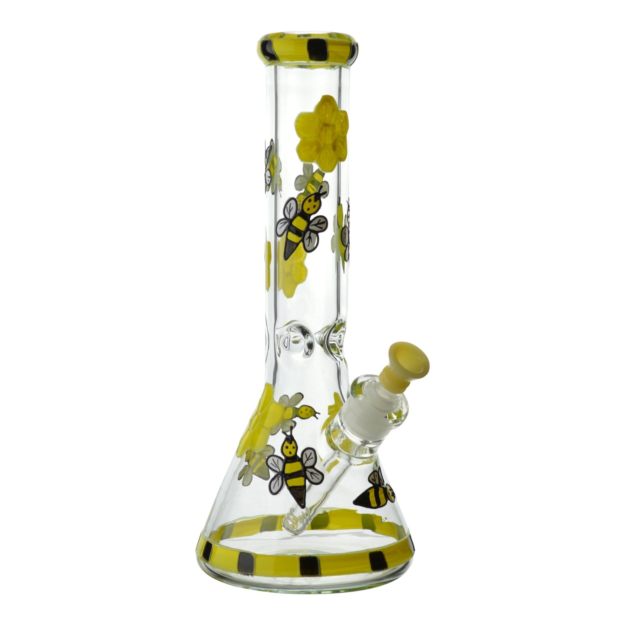 Glowing Honey Bee Beaker - 13in