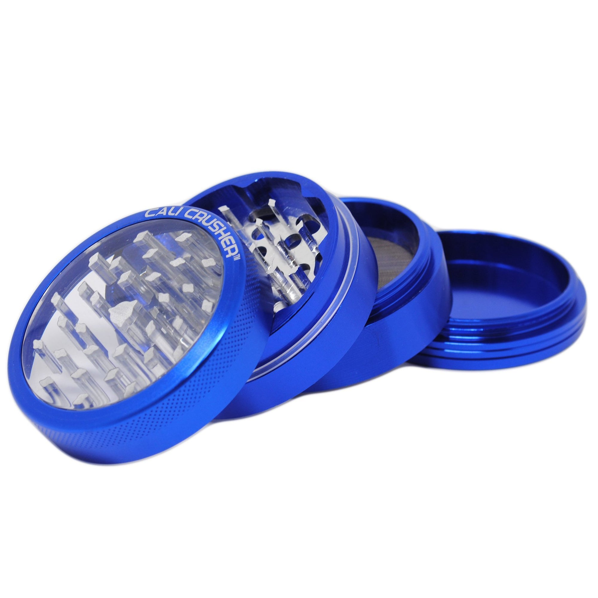 GRAV Cali Crusher Clear Top 4 Piece Grinder - 62mm