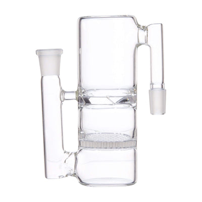 Compact 5-inch honeycomb turbine ash catcher smoking accessory sleek and crisp look