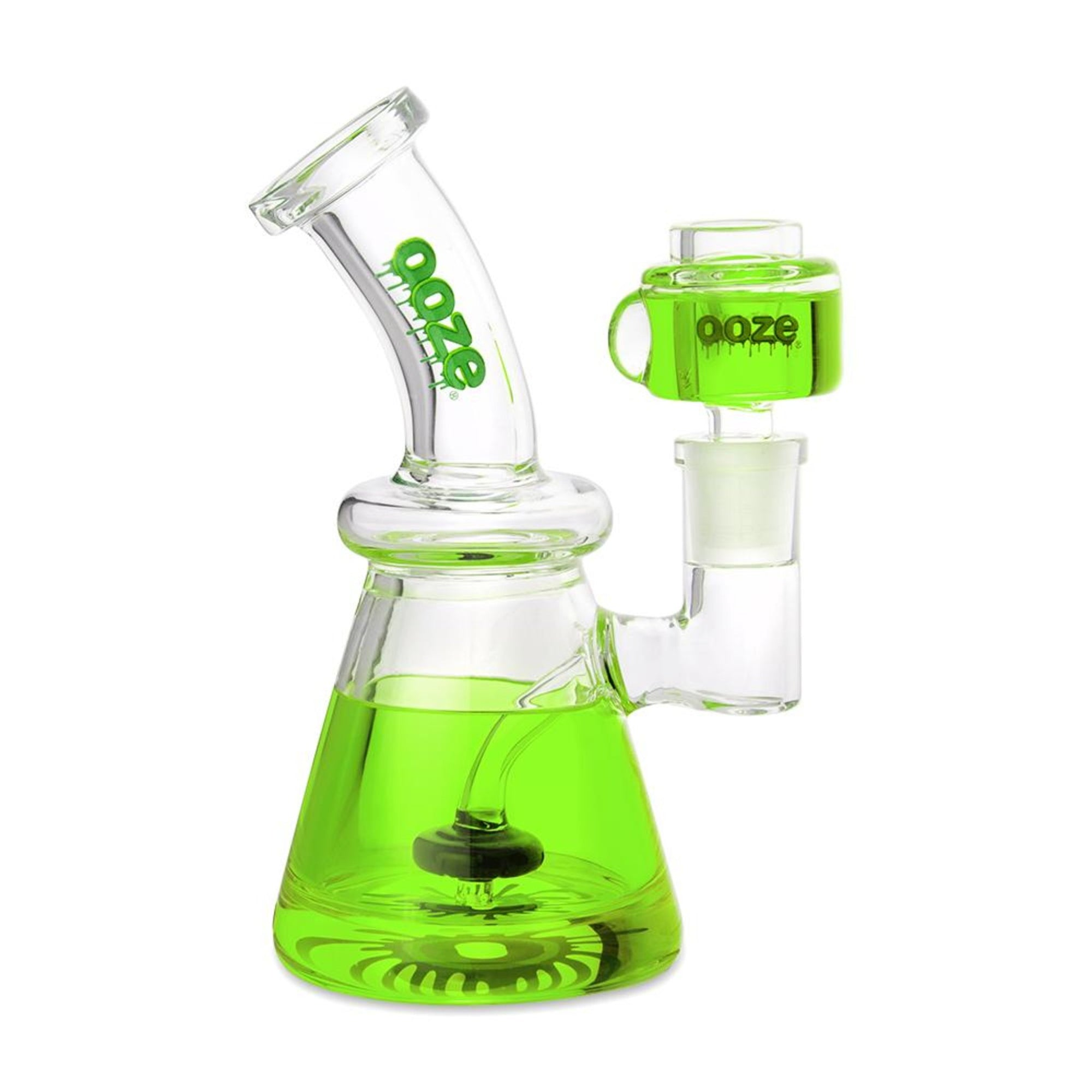 Ooze Glyco Chilled Glass Water Pipe - 7in