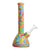 Rainbow Silicone Beaker Bong - 8.5in