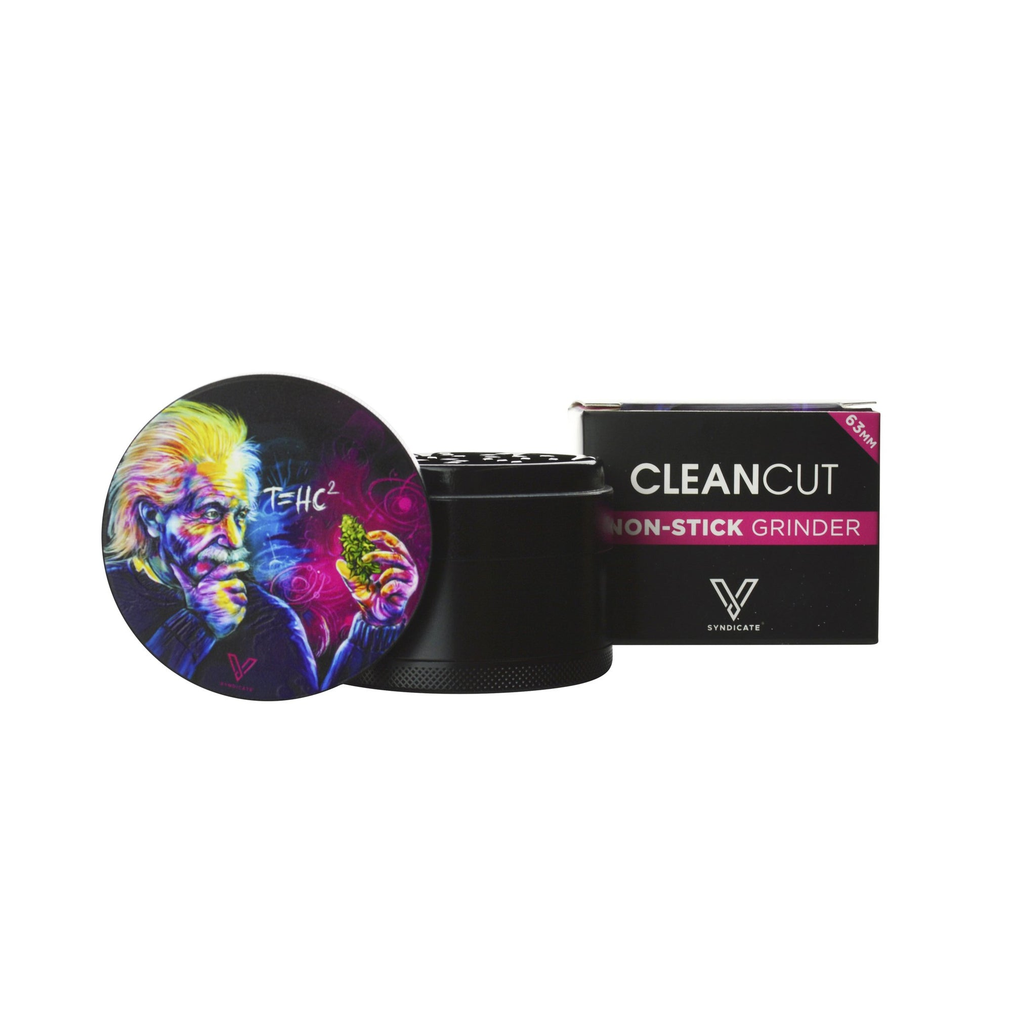 V Syndicate CleanCut Nonstick Grinder - 63mm