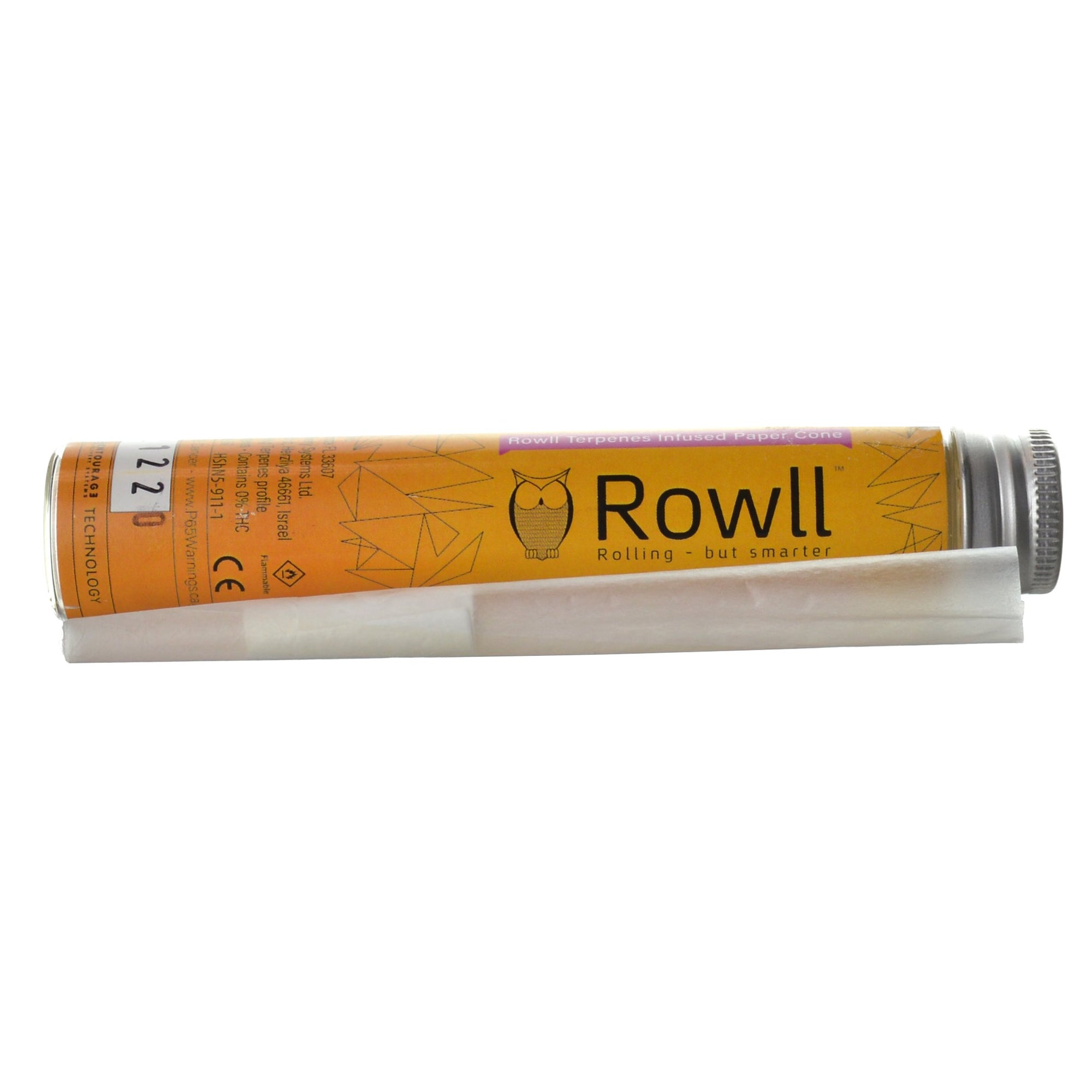 Rowll Terpenes Infused Pre-rolled Cone
