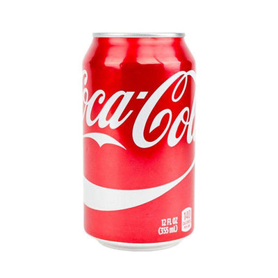 Discreet soda stash storage container with realistic shape design of real Coca Cola can