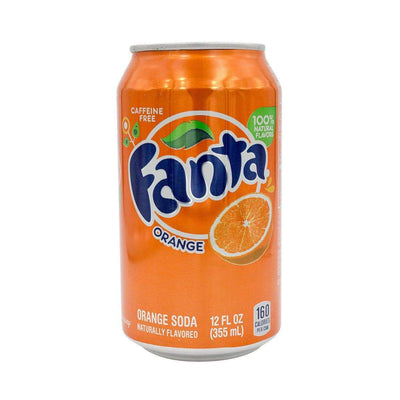Discreet soda stash storage container with realistic shape design of real fanta can