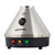 7 inch triangular Storz n Bickel Classic Volcano desktop vaporizer black control button on top green red yellow lights below