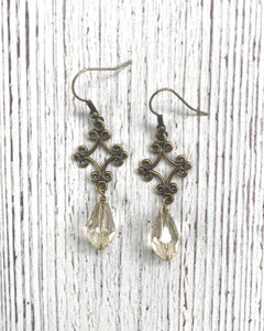 InspireDesigns - Gracious Teardrop Earring - The Desert Paintbrush