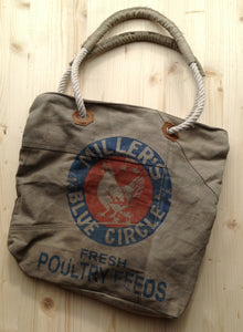 """Millers"" Canvas Tote - The Desert Paintbrush"
