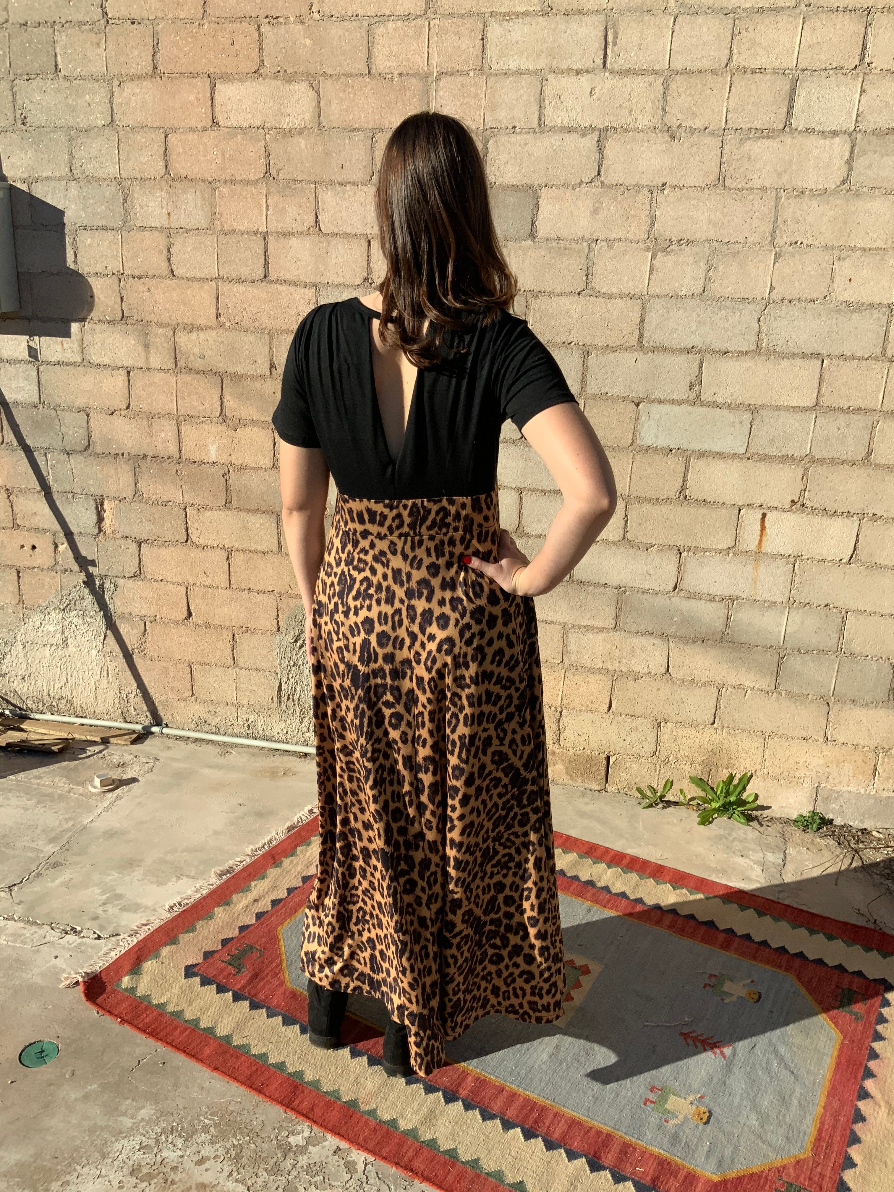 Leopard Dress - The Desert Paintbrush