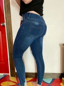 Medium Blue Jeggings
