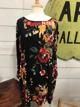 Floral Print Long Sleeve Dress - The Desert Paintbrush