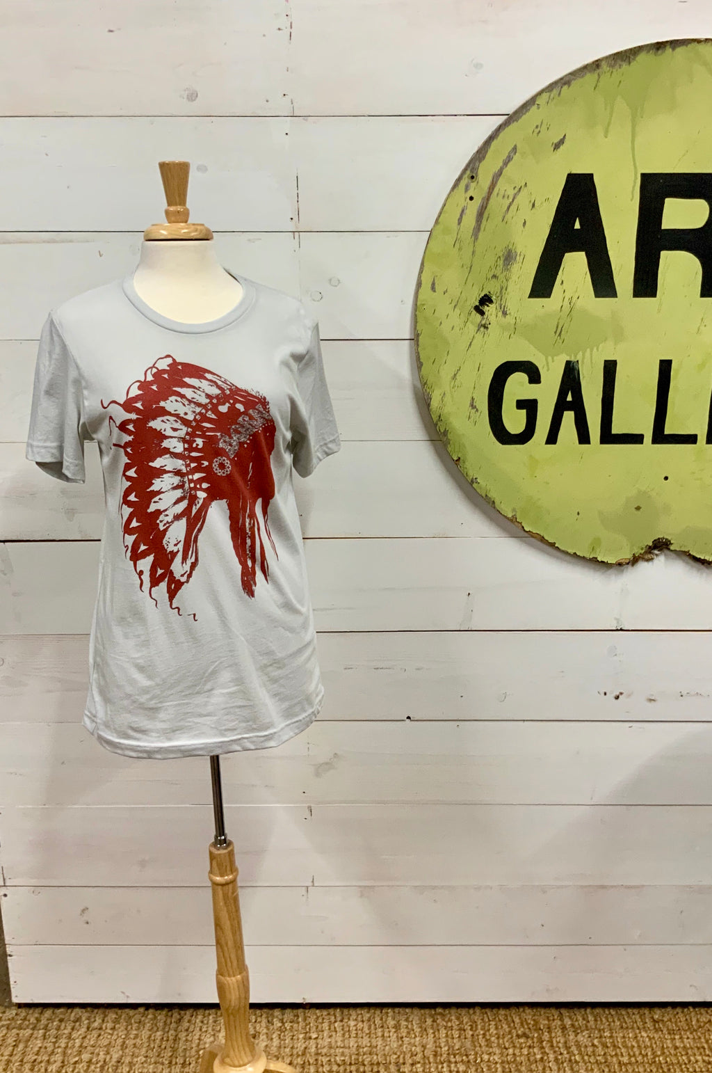 American Born Chief Head Tee - The Desert Paintbrush