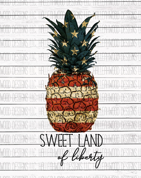 Sweet Land of Liberty- Pineapple – Halleahwood