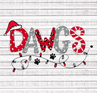 Dawgs- Christmas Letters