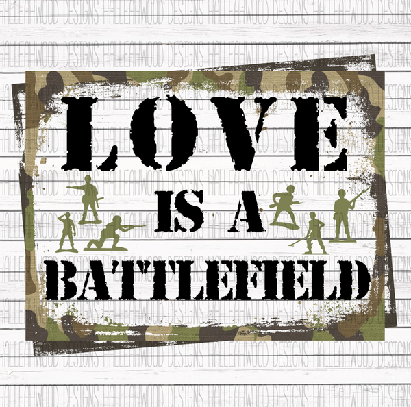 Valentine- Love is a Battlefield