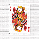 Nurse of Hearts- Playing Card