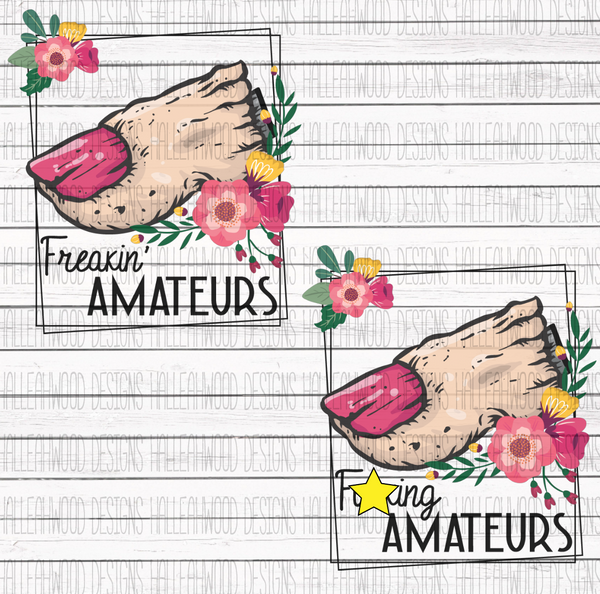 Losing Fingers- Amateurs