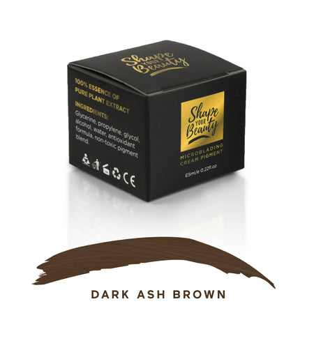 Dark Ash Brown Pigment