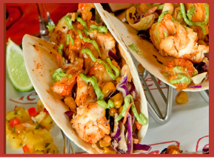 Lobster & Shrimp Tacos