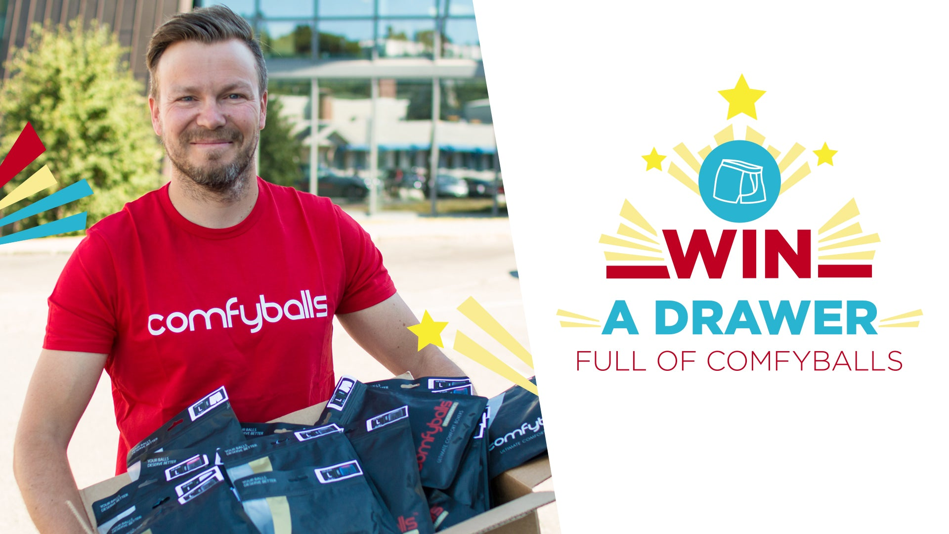 Win a drawer full of Comfyballs!