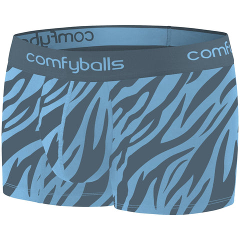 Comfyballs Zebra Teal Cotton REGULAR