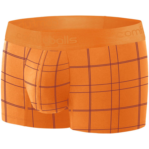 Comfyballs Ghost Flame Orange Checkered Cotton REGULAR