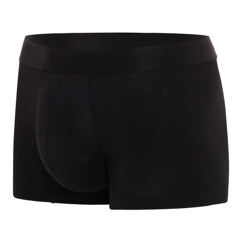 Comfyballs Men's Boxer Black No Show Cotton REGULAR