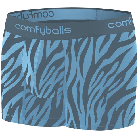 Comfyballs Zebra Teal Cotton LONG