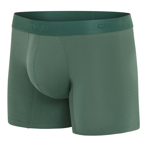 Comfyballs Men's Boxer Ghost Moss Forest Cotton LONG