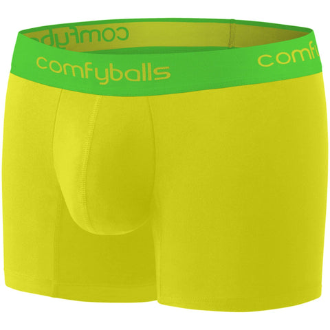 Comfyballs Men's Boxer Mellow Yellow Performance SuperLight LONG